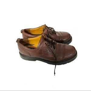 Timberland Waterproof, brown leather shoes, 8